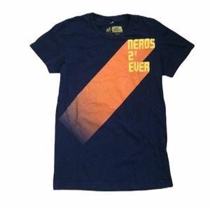 Threadless Nerds Navy Blue T-Shirt